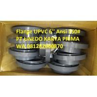 Flange UPVC 6'' Ansi 150 Sch 80