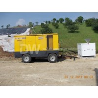 Jual Mesin Bekas Air Compressor Atlas Copco 750 Cfm
