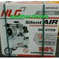 Kompresor angin oilless 3/4hp NLG OC0709 1