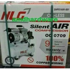 Kompresor angin oilless 3/4hp NLG OC0709