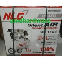 Kompressor angin oilless listrik portable NLG 1 HP
