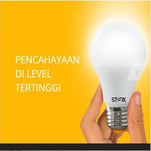 STark Omni Bohlam LED 12Watt Tetap Nyala Stabil Di Tegangan 85-265V