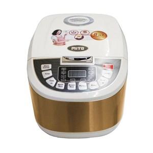 Mito R5 Rice Cooker 3IN1 Masak-Hangat-Kukus Model Digital