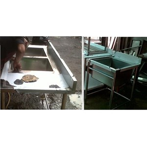 Sink & Grease Trap