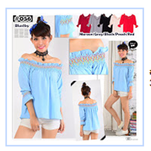 Tops Women Material Bubble - 6 Colors