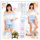 Baju Atasan Wanita Katun Bangkok 1