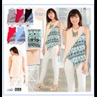 Baju Atasan Wanita Bubble - 6 Warna 1