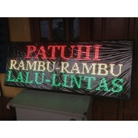Lampu Led Running Text