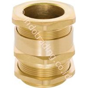 ARMOURED BRASS CABLE GLAND