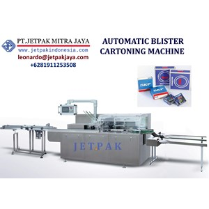 Mesin Pembuat Kemasan Automatic Blister Cartoning Machine