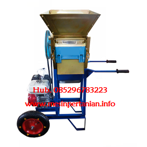 Dari Mesin Pengupas Kulit Kopi Basah - Pulper Kopi - Portable dengan Roda -  Mesin Pengolah Kopi  0