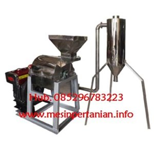 Mesin Hammer Mill Cyclone - Mesin Penepung Singkong Cyclone - Singkong