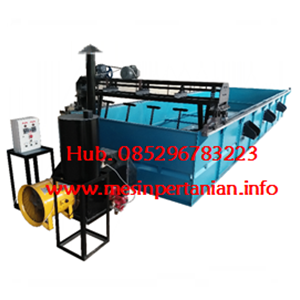 Mesin Box Dryer Kopi 3 Ton - Mesin Pengering Horizontal Kap. 3 Ton -  Mesin Pengolah Kopi