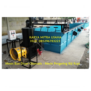 Jual Mesin Box Dryer Kopi 5 Ton