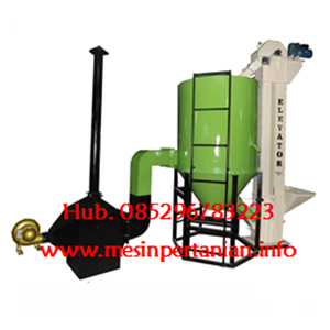 Mesin Vertikal Dryer Jagung 1 Ton - Mesin Pengering Vertikal Jagung 1 Ton - Jagung