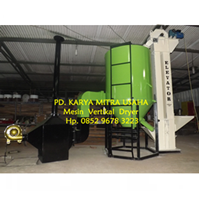 Mesin Vertical Dryer Jagung 5 Ton - Mesin Pengering Jagung Vertikal 5 Ton - Jagung