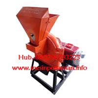Mesin Diskmill Pelet - Mesin Penepung Bahan Pelet Kap. 220 kg / jam