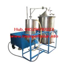 Mesin Destilasi Asap Cair -  Mesin Pengolah Kelapa