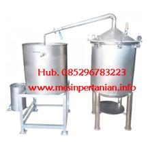 Alat Destilasi Asap Cair Grade 2 - Mesin Pengolah Kelapa