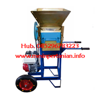 Jual Mesin Pengupas Kulit Kopi Basah - Mesin Pulper Kopi - Mesin Pulper Portable dengan Roda -  Kopi