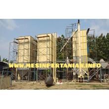 Mesin Vertical Dryer Kapasitas 10 Ton/Proses - Mesin Pengering Padi 10 Ton Mesin Pengolah Padi