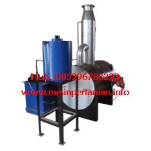 Incinerator Single Burner w/scrubber Kapasitas  up to 5kg/batch - Mesin Incinerator