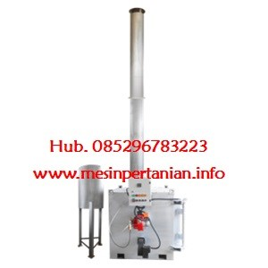 Portable Incinerator Kap. : 1 to 3.75 kg/jam (30 Kg/hari) - Mesin Incinerator