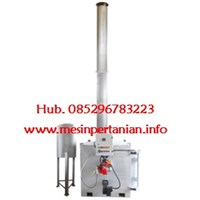 Single Burner Incinerator Kap. : 5 to 9 kg/jam - Mesin Incinerator