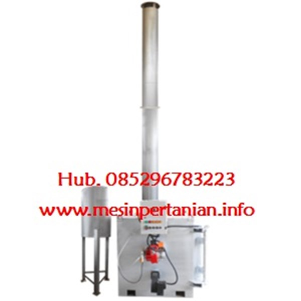 Single Burner Incinerator Kap. : 10 to 15 kg per jam - Mesin Incinerator