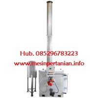 Single Burner Incinerator Kap. : 17 to 25 kg per jam - Mesin Incinerator