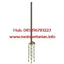 Cerobong Incinerator 14 meter tingginya - Mesin In