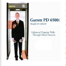 Walk Through Metal Detector Garrett PD-6500i