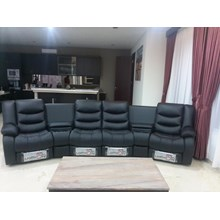SOFA KULIT HOME THEATER