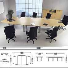 MEJA KANTOR ( square conference table ) BCT