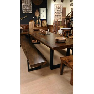 wooden dining furniture. SOLID WOOD DINING TABLE TREMBESI 1 Wooden Dining Furniture