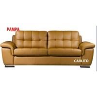 sofa kulit halfleather carlito