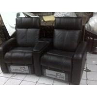 Jual sofa kulit 1 home theater