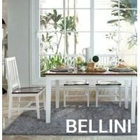 Jual meja makan kayu BELLINI