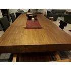 meja dan kursi kayu jati solid 1