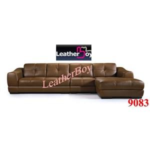 sofa L kulit