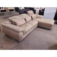 sofa L sintetis