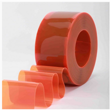 PVC Strip Curtain Orange