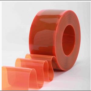 Dari  Tirai PVC Curtain Orange  ( Lucky 081210121989) 0