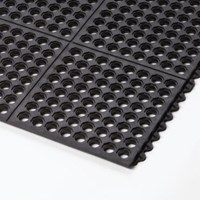 Rubber Mat Perforated Holes 1