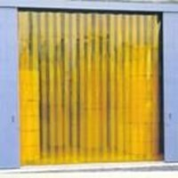 Tirai PVC Strip Curtain kuning (Lucky 081210121989)