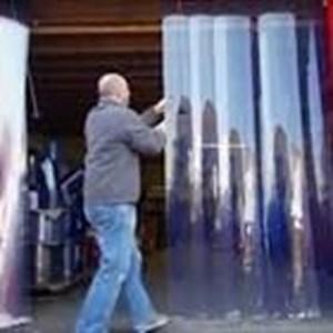 Tirai PVC Curtain Pabrik (Lucky 081210121989)