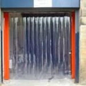 Tirai PVC Curtain Biru  Malang (Lucky 081210121989)