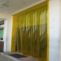 Tirai plastik kuning Makasar (Lucky 081210121989) Murah 5