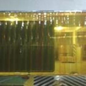 Tirai plastik kuning Makasar (Lucky 081210121989)