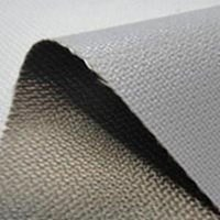 Fiberglass Cloth Coated with silicone gray  ( Luck